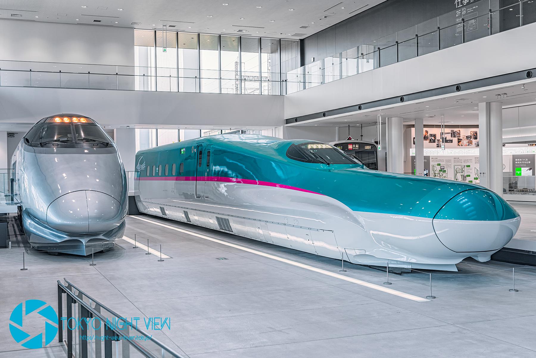 鉄道博物館 400系新幹線&E5系新幹線