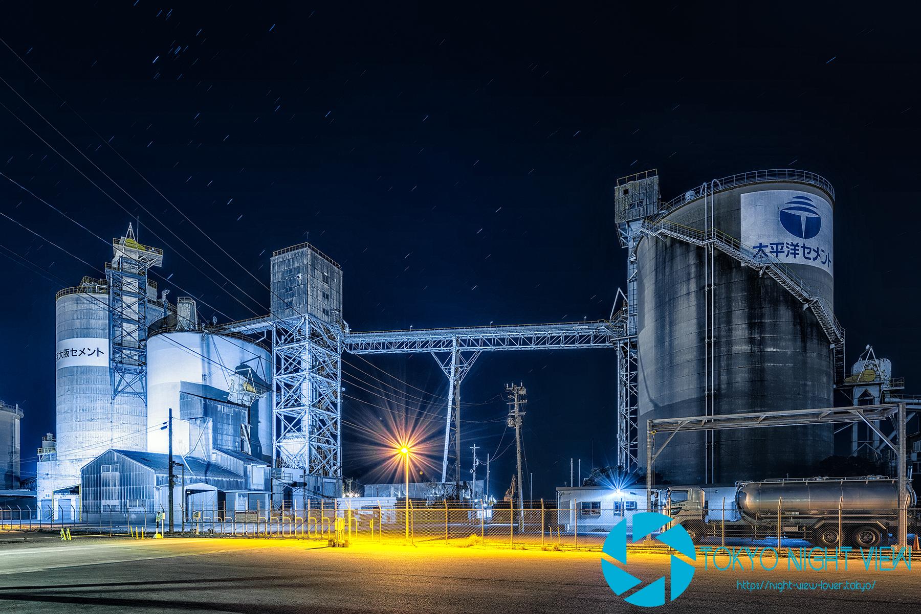セメント工場群-Cement Factory