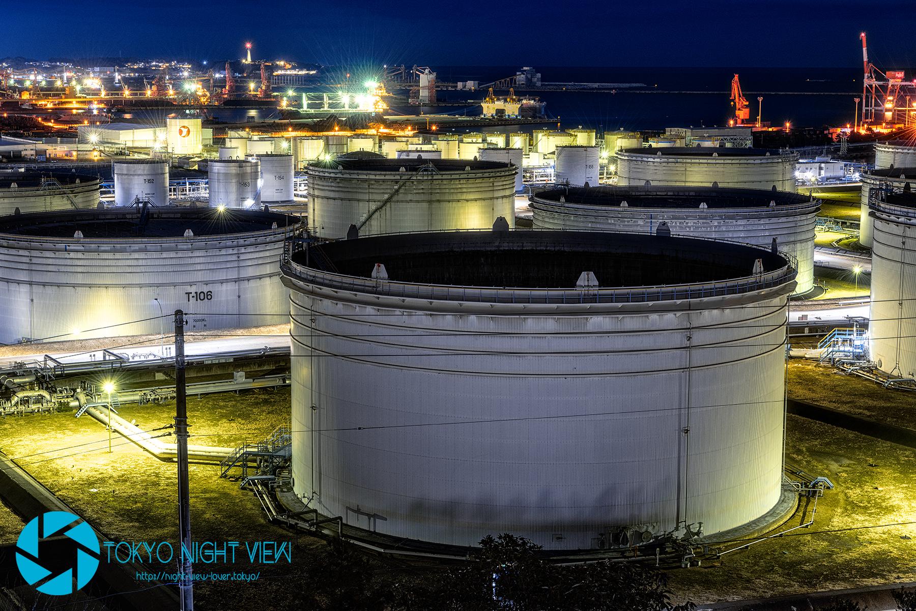 小名浜オイルターミナル-Onahama Oil Terminal