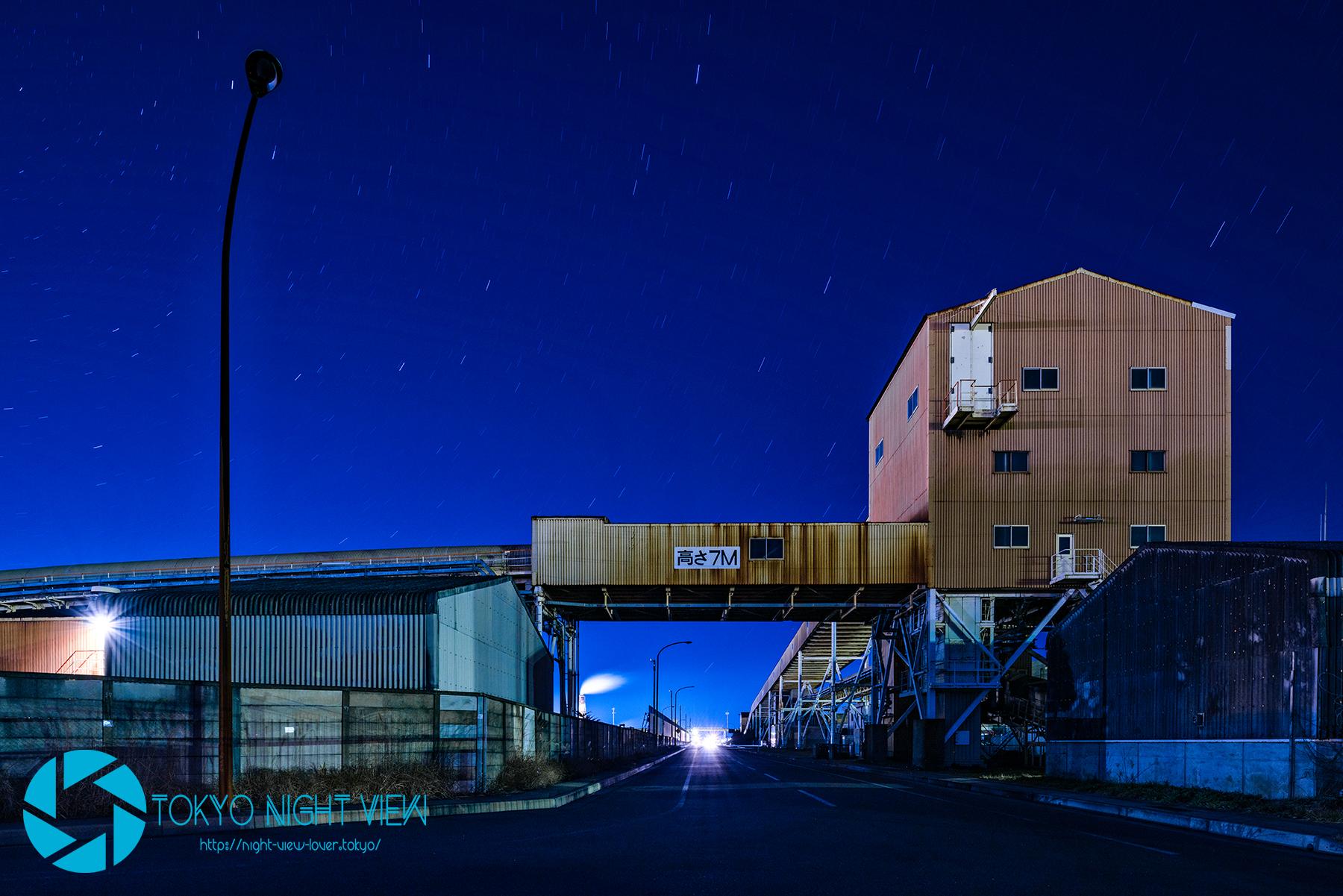 工場風景-Factory landscape